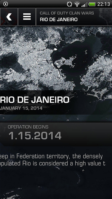 Call of Duty: Ghosts - Clan Wars 5: Rio de Janeiro - FPS