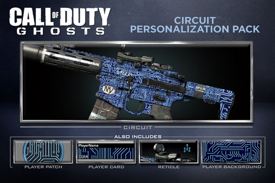 Call Of Duty Ghosts Personalization Packs Characters And Extra Slots