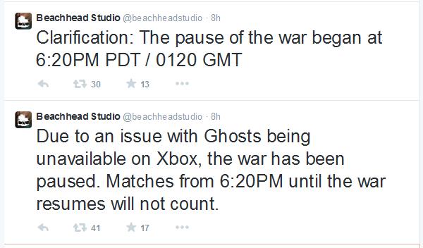 Xbox Live Issues Hit Tokyo Clan Wars - FPS Prestige