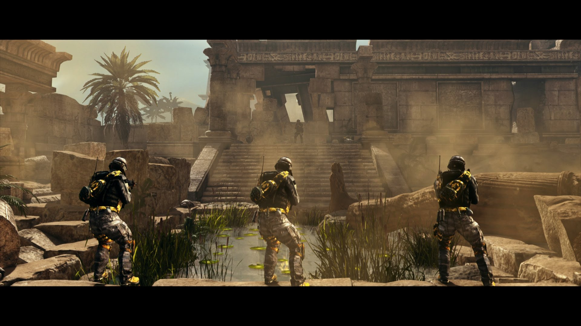 Call Of Duty Ghosts Pharaoh Map Preview Fps Prestige