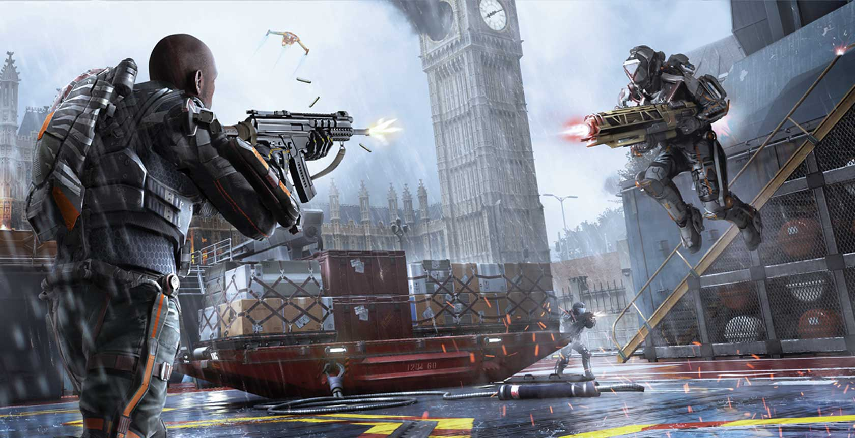 Call of Duty: Advanced Warfare Supremacy pack - Highrise returns Call Of Duty Advanced Warfare Map Pack Release Dates on