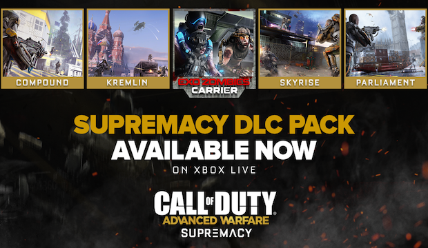CoD: Advanced Warfare Supremacy DLC out now | FPSP on