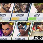 Speedrunning the Overwatch Hero Menu!
