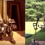 Cool Dad Acts Out Overwatch Emotes