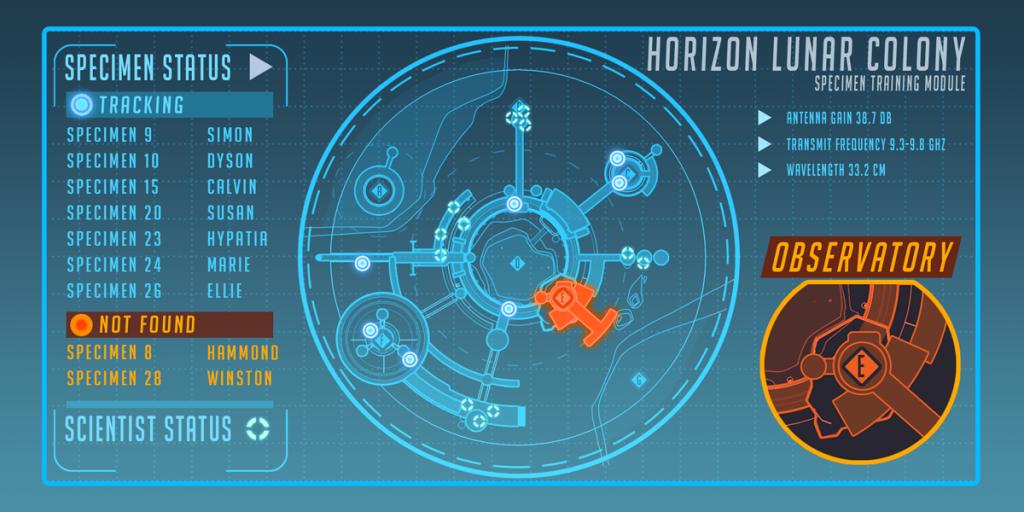 Overwatch Horizon Lunar Colony Specimen Training Module