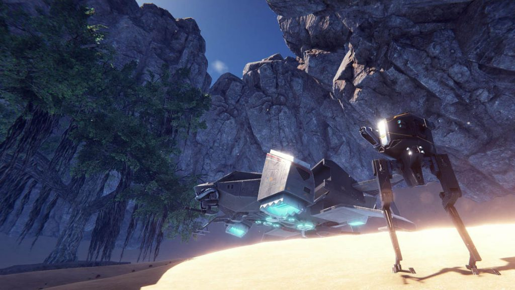Pantropy is a Survival Mech FPS Game with RPG Elements