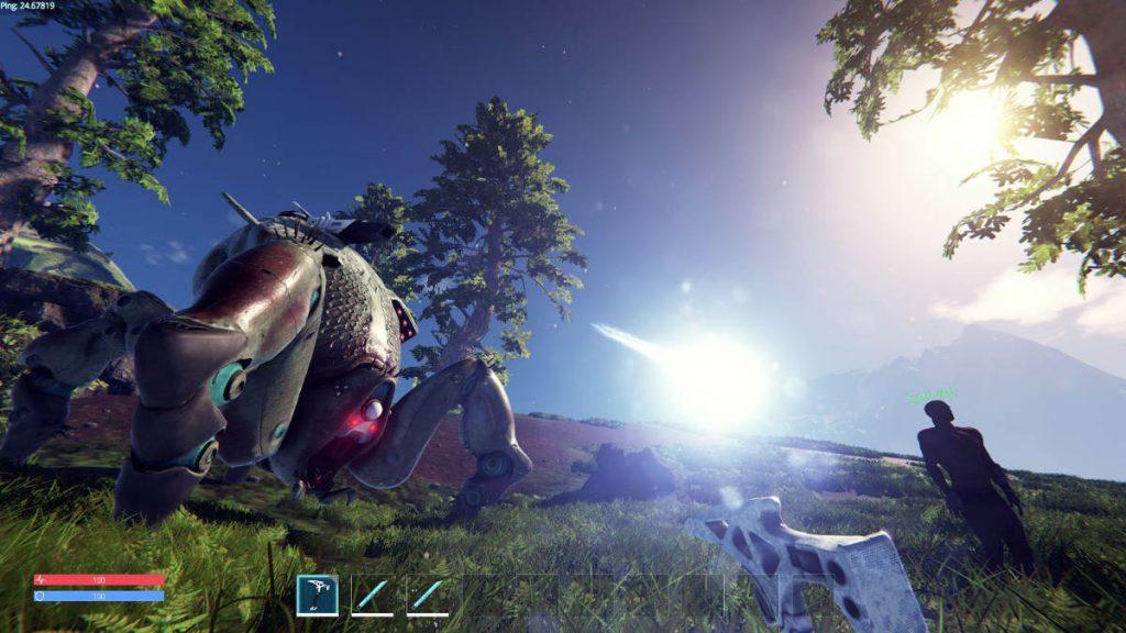 Pantropy Mech Survival FPS On Foot Screengrab 2