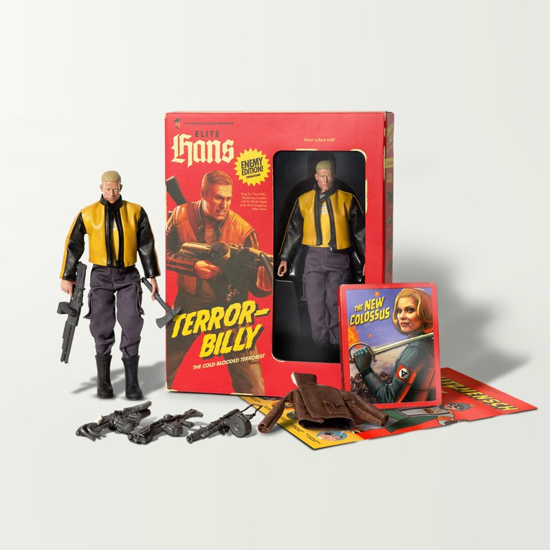 Wolfenstein II: The New Colossus Collectors Edition BJ Blazkowicz Terror-Billy Figure