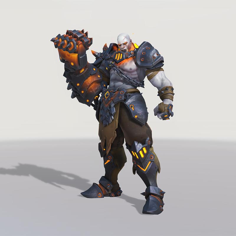 Blizzard World Update New Doomfist Blackhand Skin