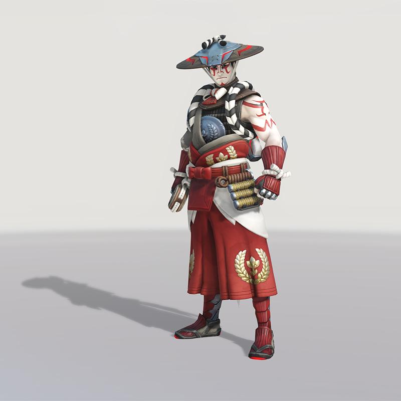 Blizzard World Update New Hanzo Kabuki Skin