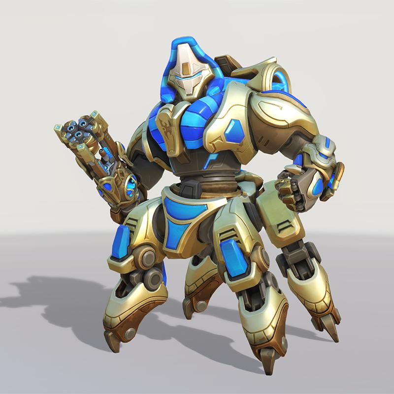 Blizzard World Update New Orisa Immortal Skin