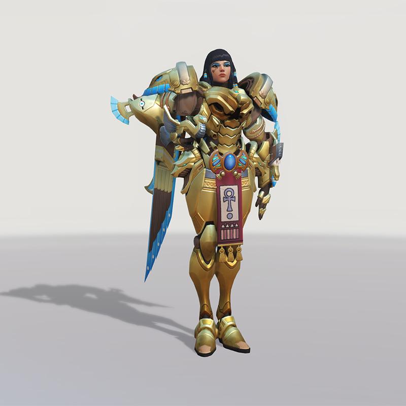 Blizzard World Update New Pharah Asp Skin
