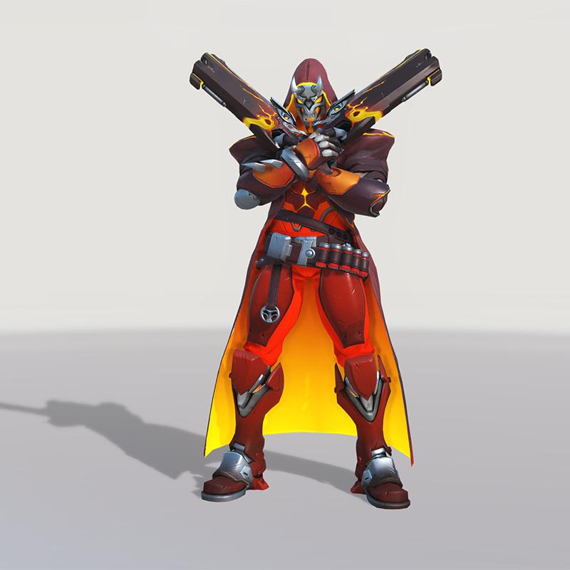 Blizzard World Update New Reaper Hellfire Skin