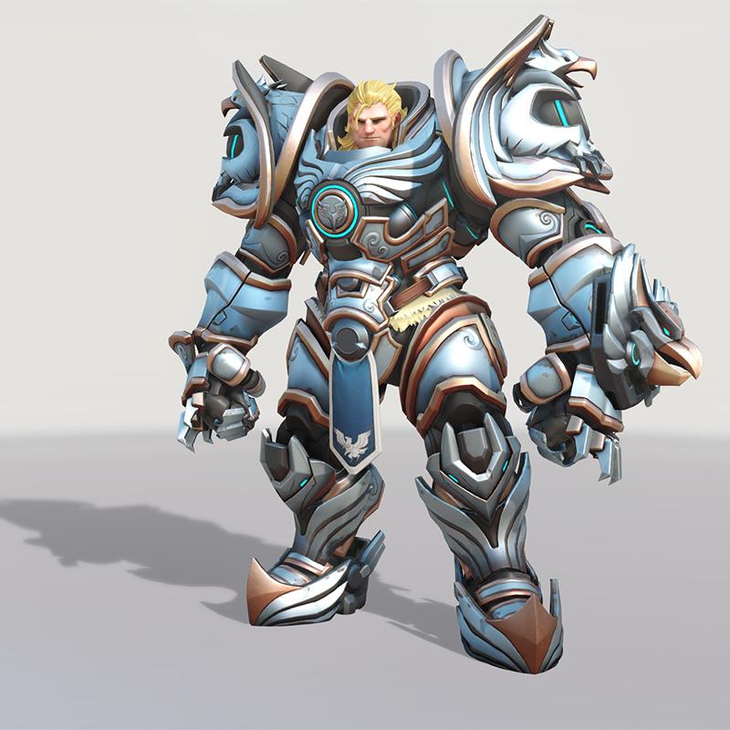 Blizzard World Update New Reinhardt Crusader Skin