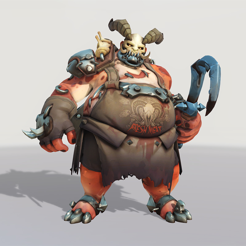 Blizzard World Update New Roadhog Butcher Skin