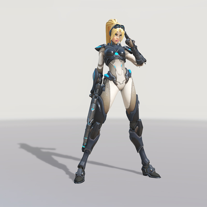 Blizzard World Update New Widowmaker Nova Skin