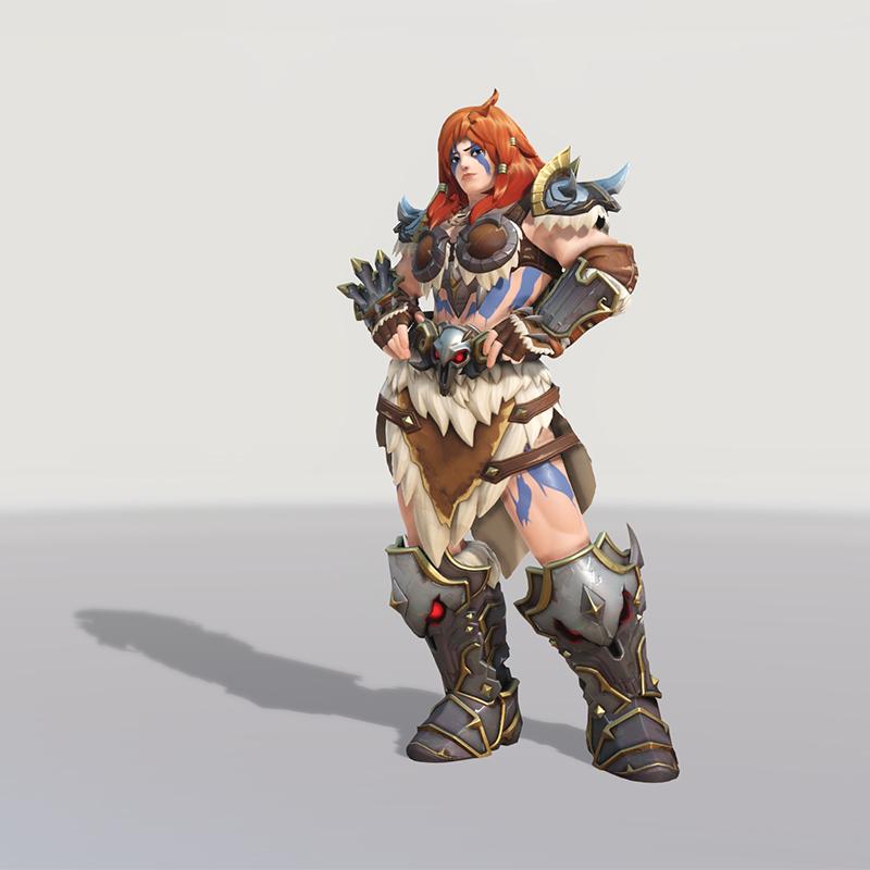 Blizzard World Update New Zarya Barbarian Skin