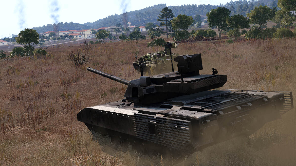 Arma 3 Tanks DLC Will Arrive on April 11, 2018 including the T-140 Angara Main Battle Tank