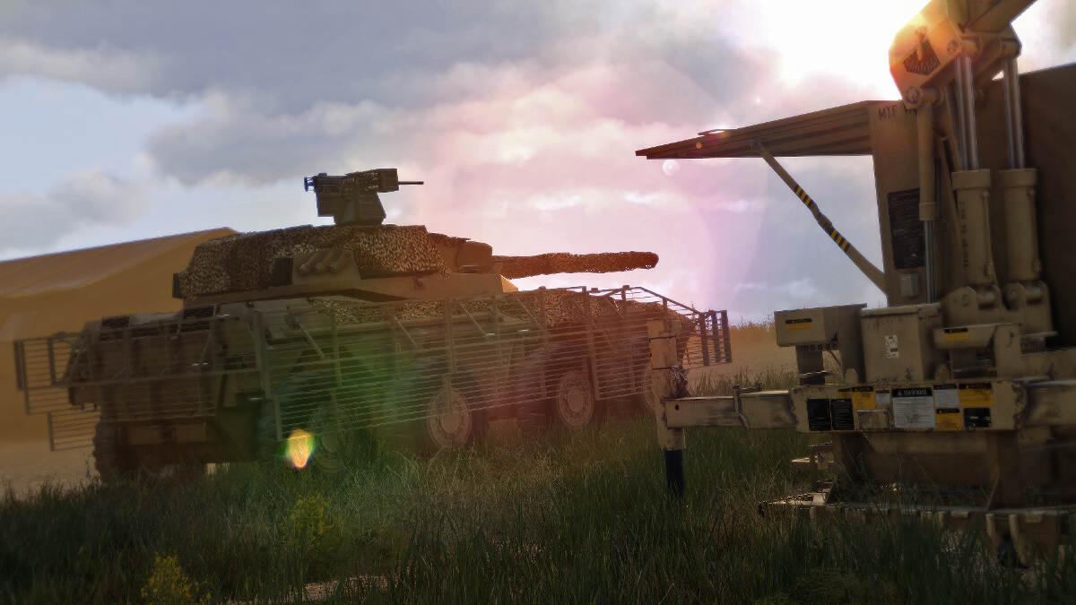 Arma 3 Targeting System