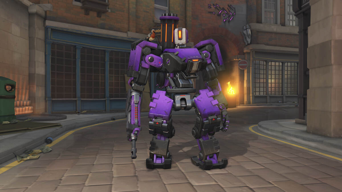 Bastion Null Sector Overwatch Uprising Skin