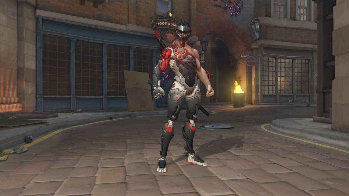 Genji Blackwatch Overwatch Uprising Skin