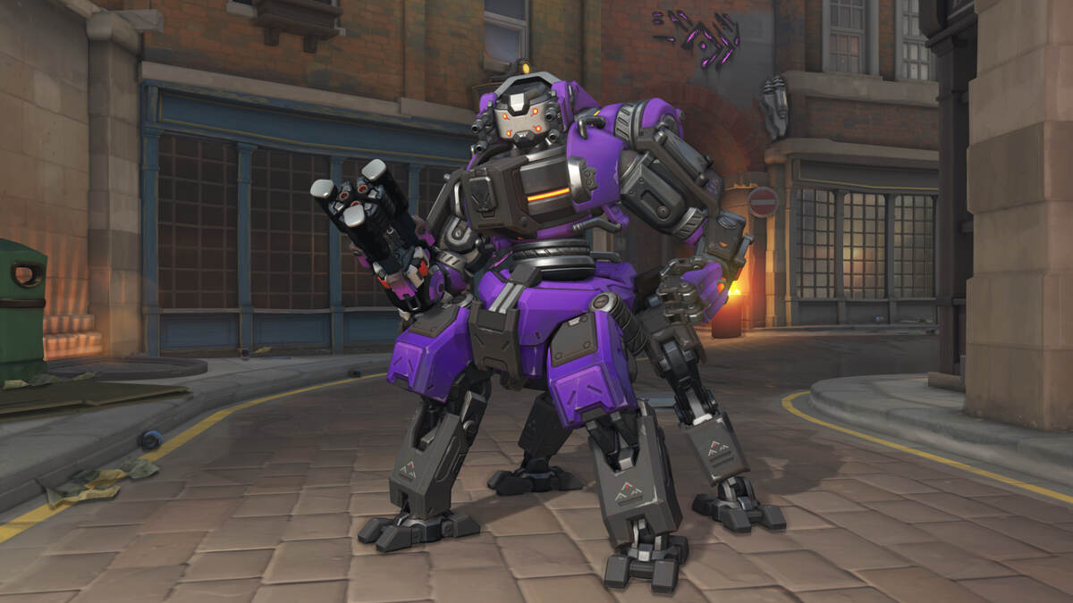 Orisa Null Sector Overwatch Uprising Skin
