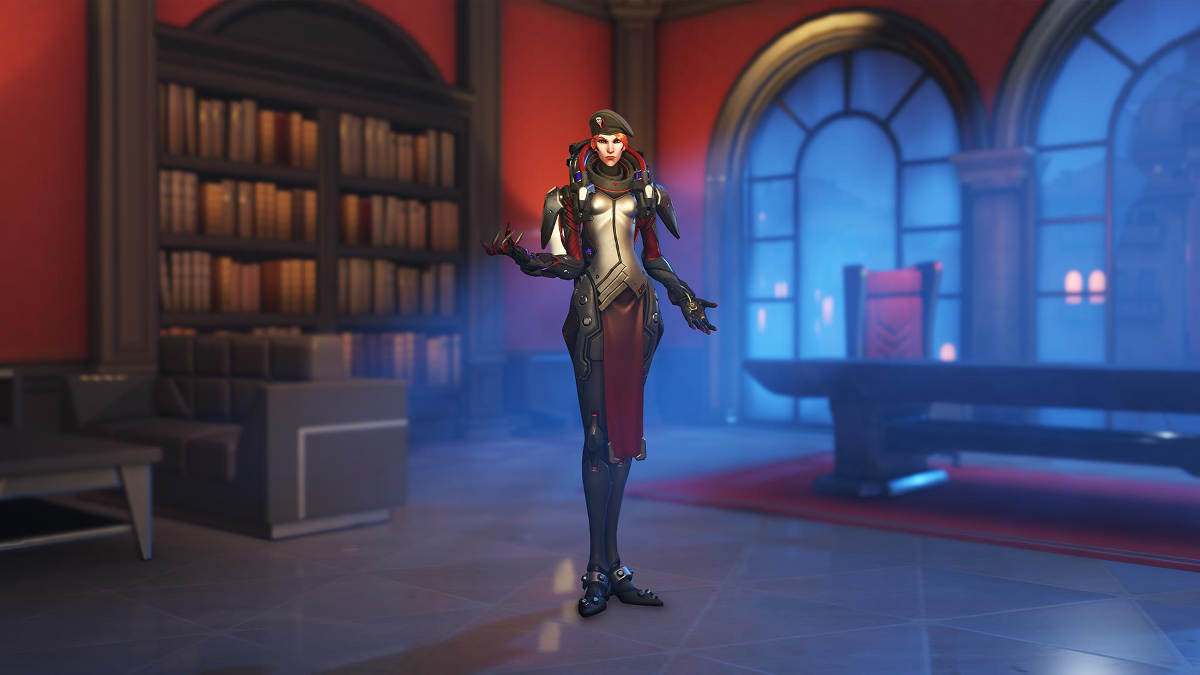 Overwatch Retribution Moira Blackwatch Skin