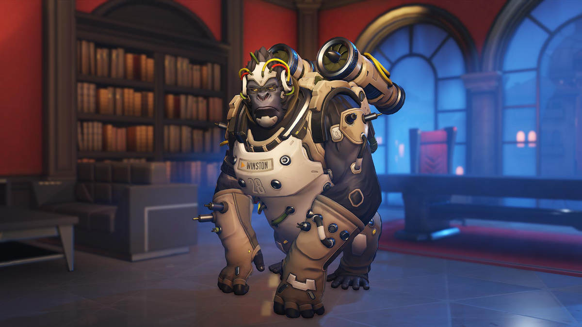 Overwatch Retribution Winston Specimen 28 Skin