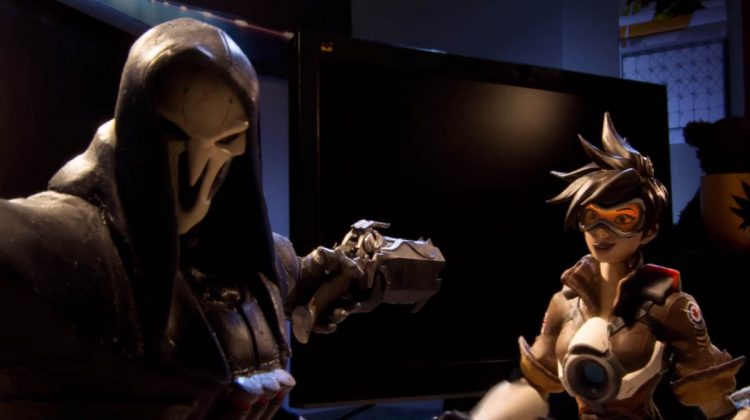 Awesome 'Trace and Bake' Overwatch Official Stop-Motion Video