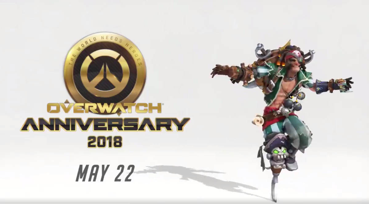 Overwatch Anniversary Event 2018