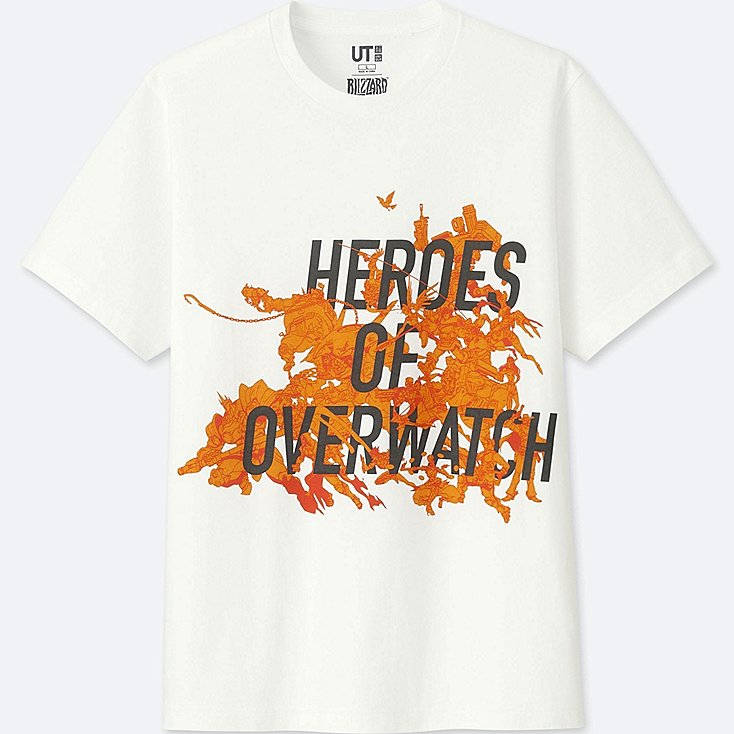 Heroes of Overwatch Shirt at Uniqlo