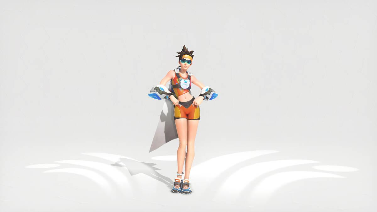 Overwatch Summer Games 2016 Tracer Sprinter Skin