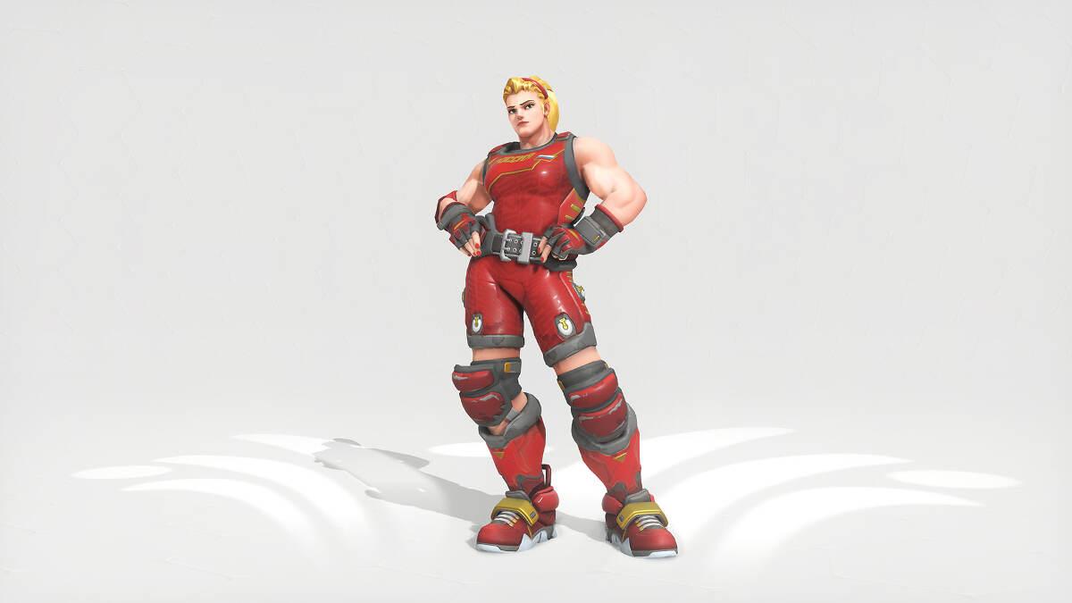 Overwatch Summer Games 2016 Zarya Weightlifter Skin