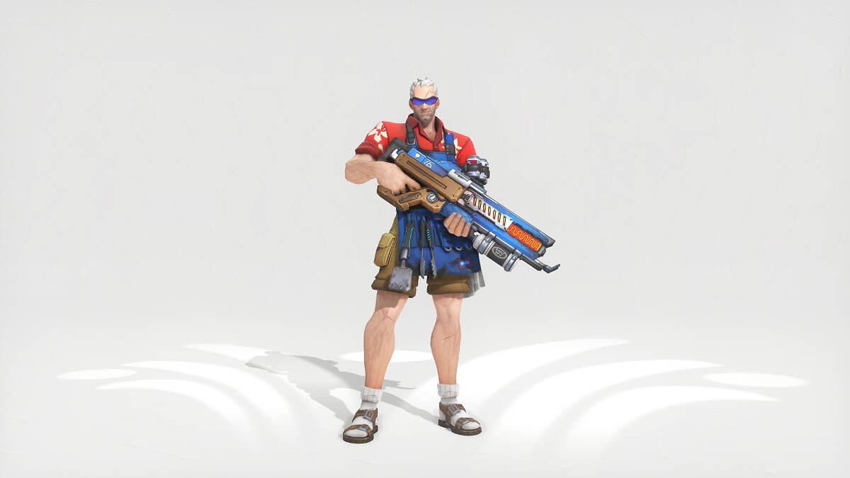 Overwatch Summer Games 2017 Soldier 76 Grillmaster 76 Skin